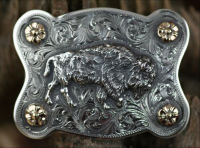 Clint Orms WASHINGTON 1808 Trophy Belt Buckle