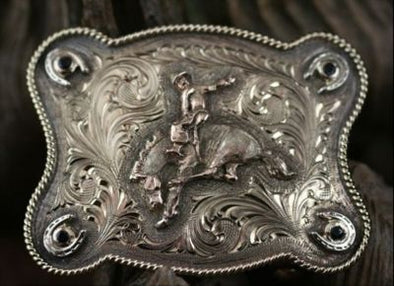 Clint Orms WASHINGTON 1824 Trophy Belt Buckle
