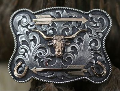 Clint Orms WASHINGTON 1828 Trophy Belt Buckle