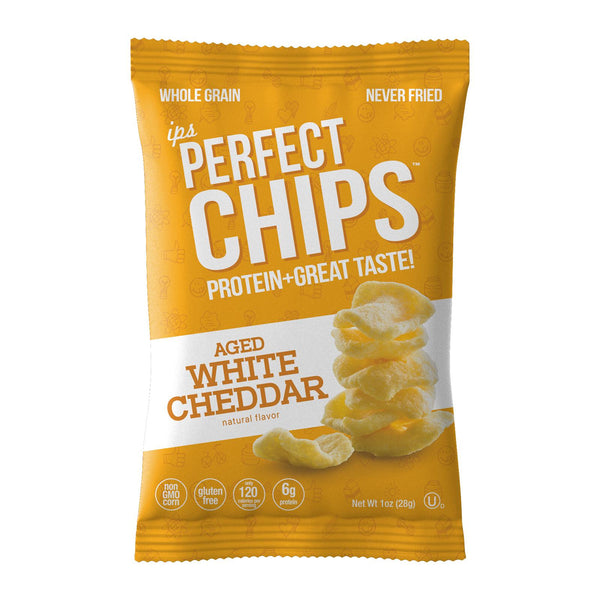 IPS Perfect Snacks - White Cheddar Chips - 4 oz