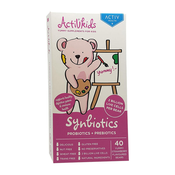 Activkids Synbiotics Strawberry (Best Before: Sep 2019)