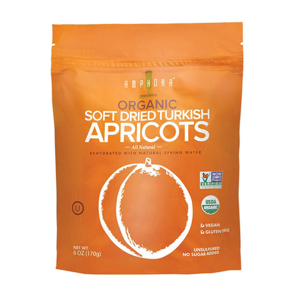 Amphora organic dried apricots (Best Before 31 Oct 2019)