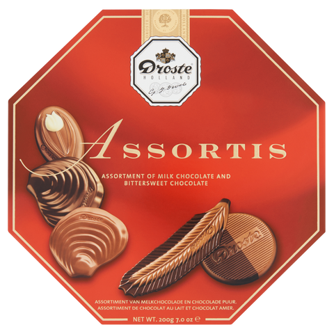 DROSTE ASSORTIS CHOCOLATE 200G (Best Before: 23 Jan 2020)