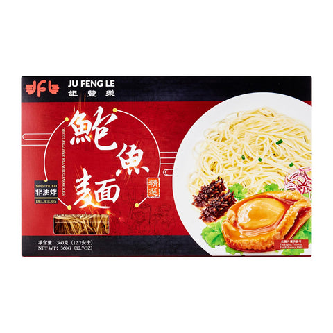 Ju Feng Le Dried Abalone Flavored Noodle (Best Before: 26 Dec 2019)