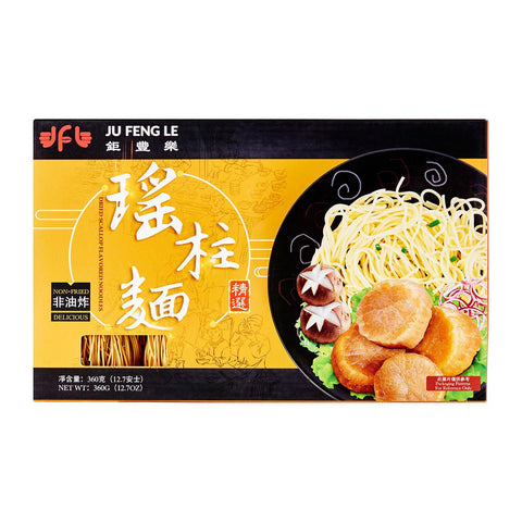 Ju Feng Le Dried Scallop Flavored Noodle (Best Before: 26 Dec 2019)