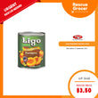 Ligo Peaches Halves (USA) 822gm (Best Before: 01 Sep 2019)