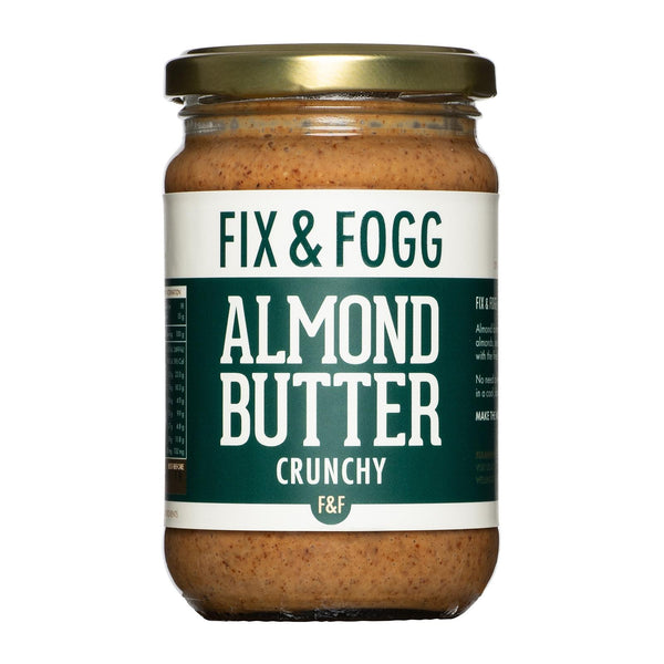 Fix & Fogg - Almond Butter - Crunchy - 275g