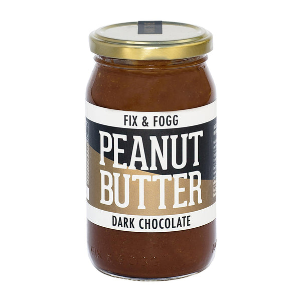 Fix & Fogg - Peanut Butter - Dark Chocolate - 375g