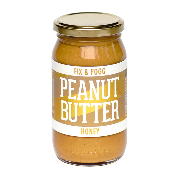 Fix & Fogg - Peanut Butter - Honey - 375g