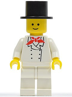 Chef - White Legs, Standard Grin, Black Top Hat