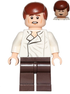 Han Solo, Dark Brown Legs (75137)
