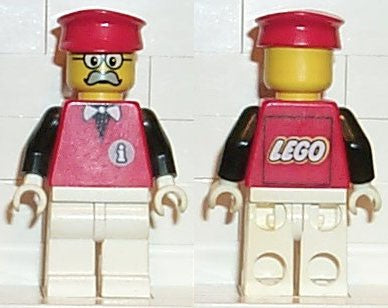 Infomaniac, LEGO Logo on Back