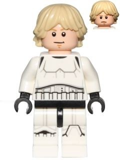 LUKE SKYWALKER - Tenue stormtrooper, LEGO Star Wars : Detention Block Rescue, 75159, 2016
