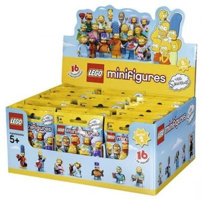 Minifigure, The Simpsons, Series 2 (Box of 60)