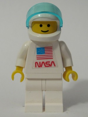 Shuttle Astronaut with NASA Sticker on Torso (set 1682)