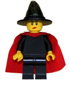 Witch - Plain with Cape (9349)