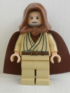 Star Wars 0336 - Obi-Wan Kenobi (Old, Light Flesh with Hood and Cape, with Pupils)