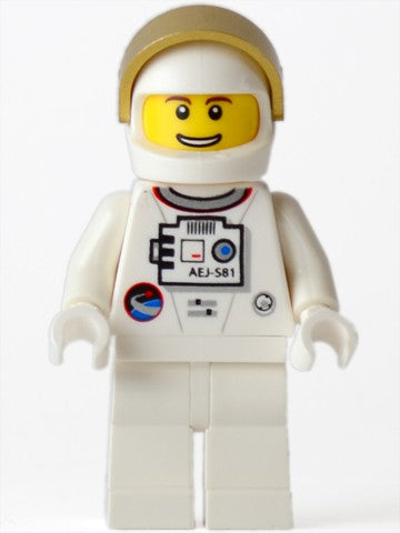 Shuttle Astronaut - Male, Thin Grin with Teeth (10231)