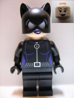 Super Heros 006 Catwoman, Purple Lips