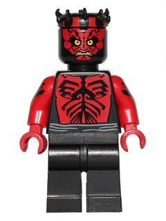 Star Wars 0384 - Darth Maul - Printed Red Arms