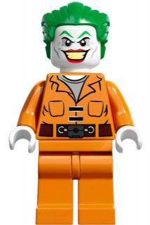 Super Heros 061 The Joker - Prison Jumpsuit with Belt