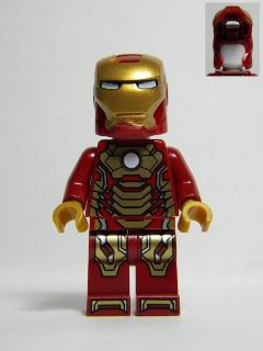 Iron Man Mark 42 Armor (Plain White Head)