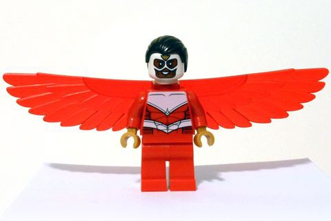 Super Heros 099 Falcon - Red