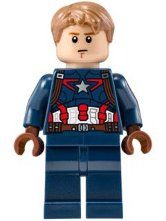 Captain America - Detailed Suit - without Mask