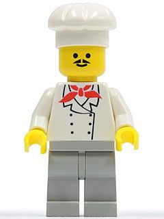 Chef - Light Gray Legs, Moustache