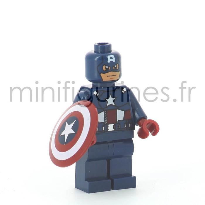 Super Heros 014 Captain America - Dark Blue Suit