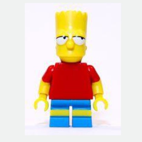 Bart Simpson - Eyes Looking Left