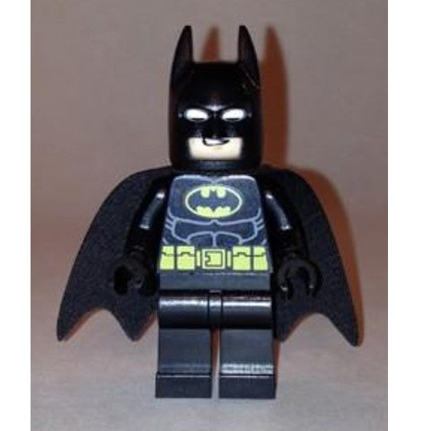 Super Heros 016 Batman - Black Suit with Yellow Belt and Crest (Type 1 Cowl)