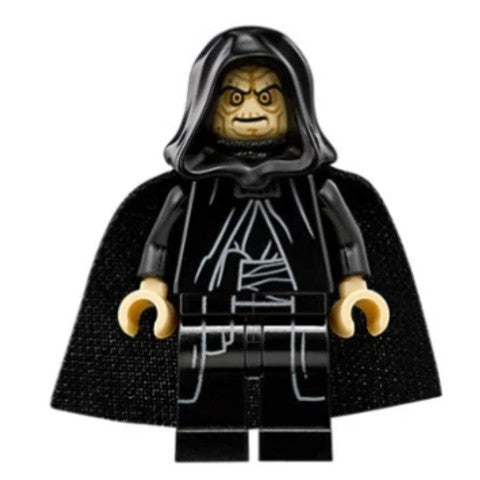 Star Wars 0634a Emperor Palpatine (Spongy Cape)