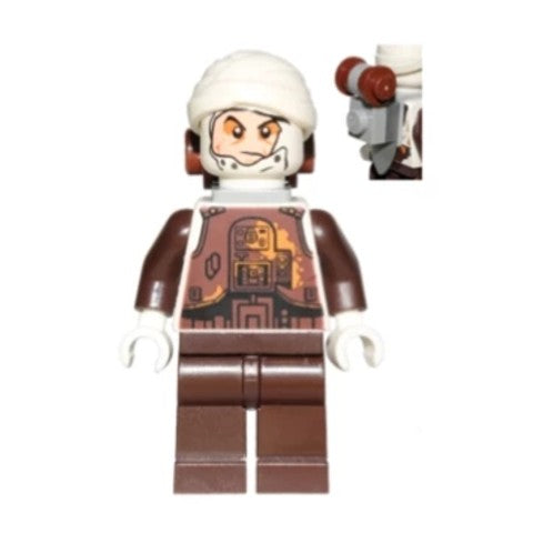 Star Wars 0751 Dengar (White Torso)