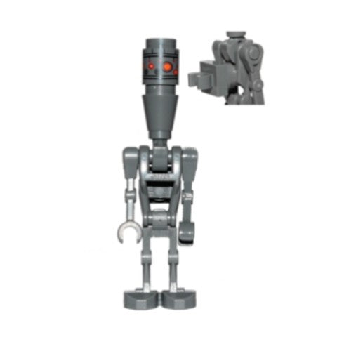 Star Wars 0831a IG-88 with Round 1 x 1 Plate