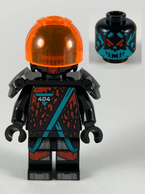 Ninjago 566 Red Visor