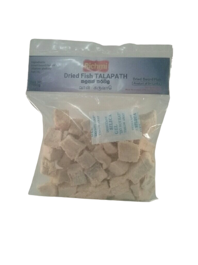 Dried Fish Talapath pieces packet