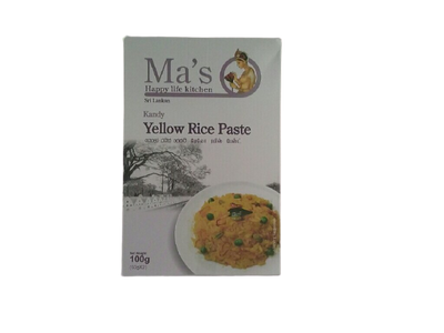 Yellow Rice Paste Pkt