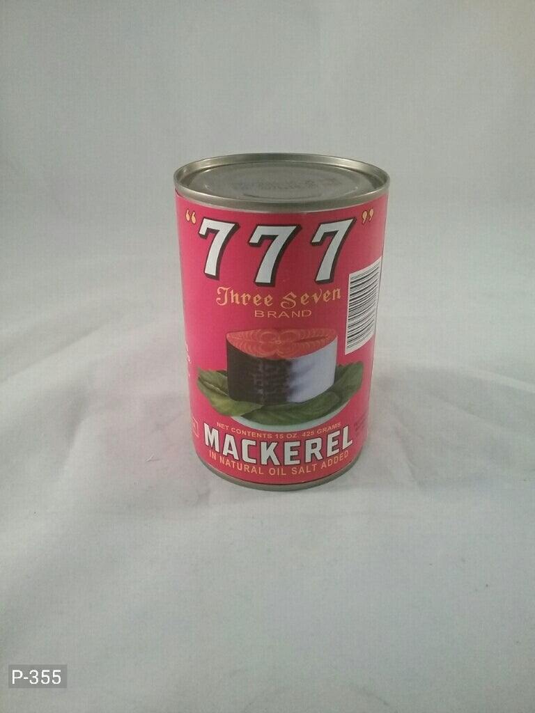 Mackerel in oil