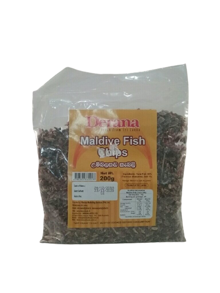 Maldivefish Chips packet