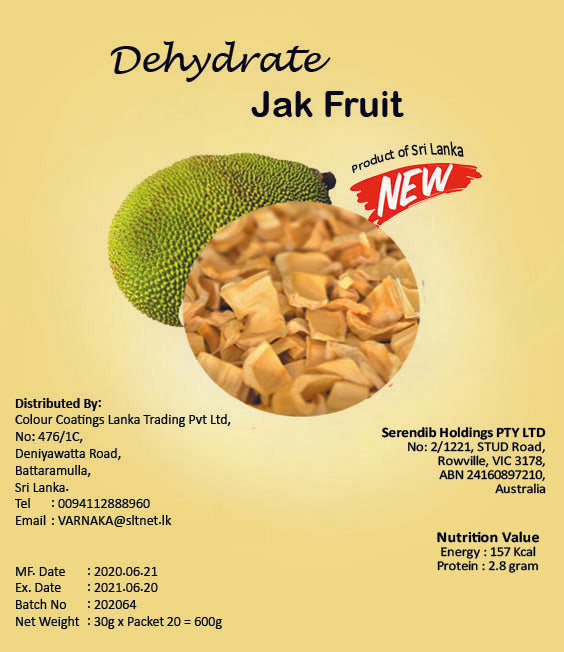 Dehydrated Jack fruit