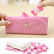 30/100pcs Disposable Pure Cotton Compressed Portable Travel Face Towel Water Wet Wipe Washcloth Napkin Outdoor Moistened Tissues