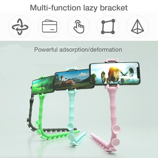 Multi-functional Cute Worm Lazy Mobile Phone Bracket