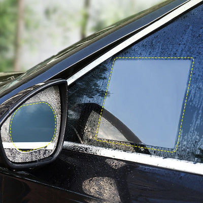 2PCS/Set Anti Fog Car Mirror Window Clear Film