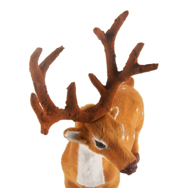 15 20 25cm Reindeer Christmas Deer Decorations For Home New Year
