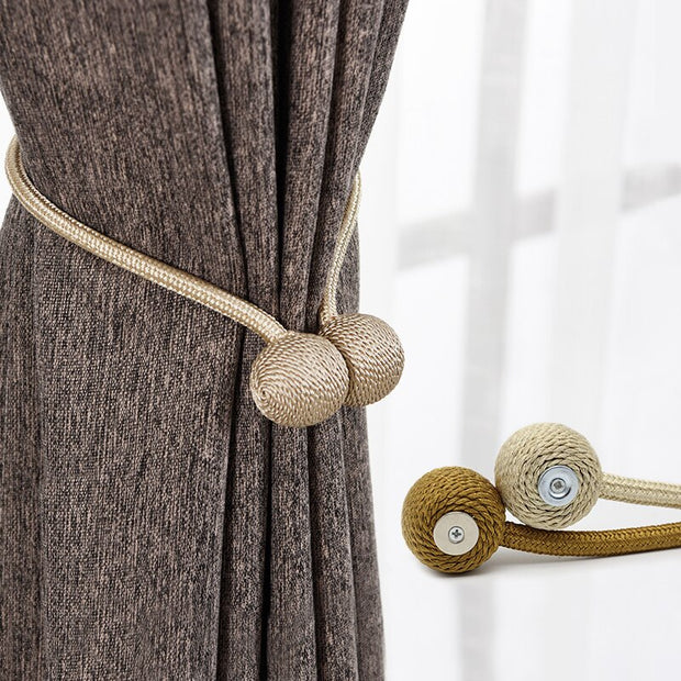 Magnetic Decorative Drapes Tie Curtain Tiebacks