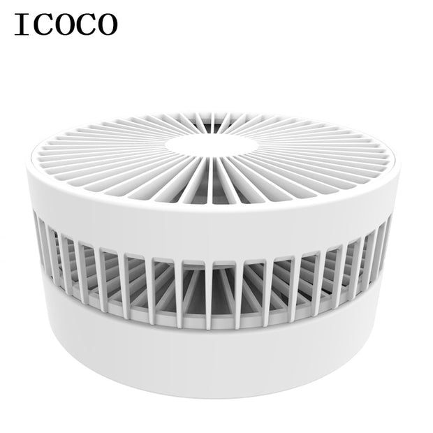 New mini  USB rechargeable & portable small electric dormitory bed office desktop fan