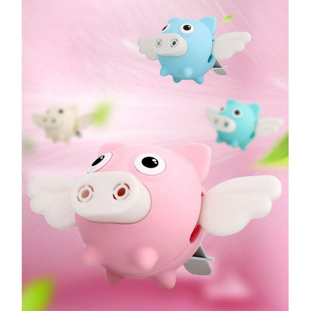 Cartoon Flying PigCar Perfume Fragrance Vent Clip Air Freshener Diffuser