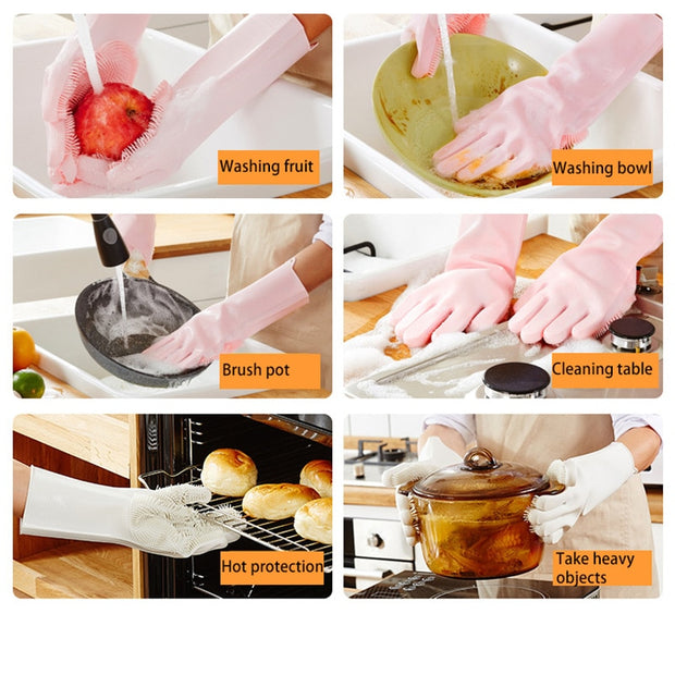 Silicone Wok heavy lifting gloves