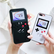 Game Phone Case For iPhone 6 6S 7 8 Plus X Classic Retro Color Screen Game Case For iPhone X XR XS MA Fundas Capas X
